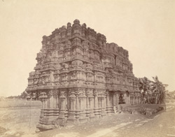 General view of the uncompleted south gopura of the Ramalingeshvara Temple, Rameswaram 10032334